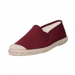 Veganer Espadrilles Evita Strech Purple von Grand Step Shoes