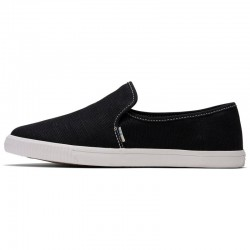 Toms - Clemente Black/White, vegane Slipper
