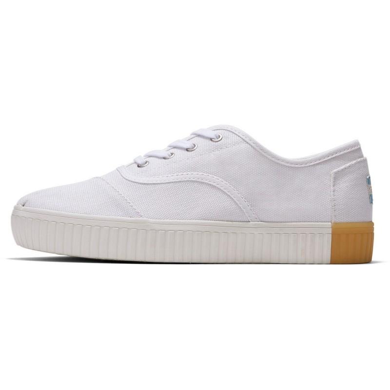 Toms - Canvas Cordones White, vegane Sneaker