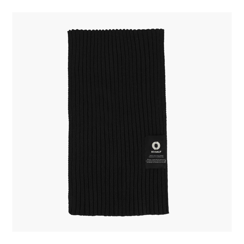 Ecoalf - Thick Scarf Black