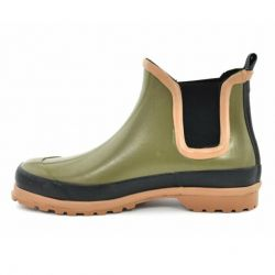 Grand Step Shoes - Victoria Multi Olive, vegane Gummistiefel