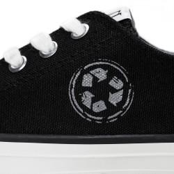 NAE - veganer Sneaker Reclaim Black
