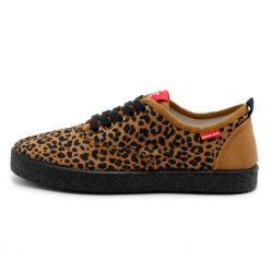 Grand Step Shoes - Sasha Animal, veganer Sneaker