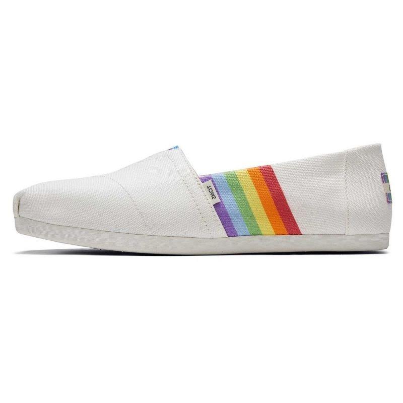 Toms - White Unity Rainbow Alpargata