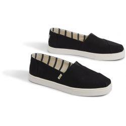 Vegane Schuhe von Toms - Black Heritage Canvas Cupsole