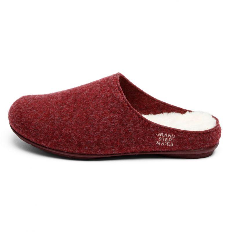 Grand Step Shoes - Homeslipper Grey