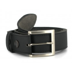 Vegetarian Shoes - Snapper Belt black
