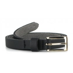Vegetarian Shoes - Skinny Belt black