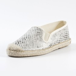 Veganer Espadrilles Evita Strech Snake von Grand Step Shoes