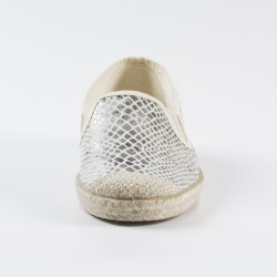 Veganer Espadrilles Evita Stretch Snake von Grand Step Shoes
