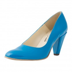 Bella Storia - Dorothy Light Blue Patent Dekollete
