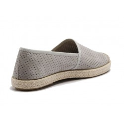 Grand Step Shoes - Evita Perforated Grey