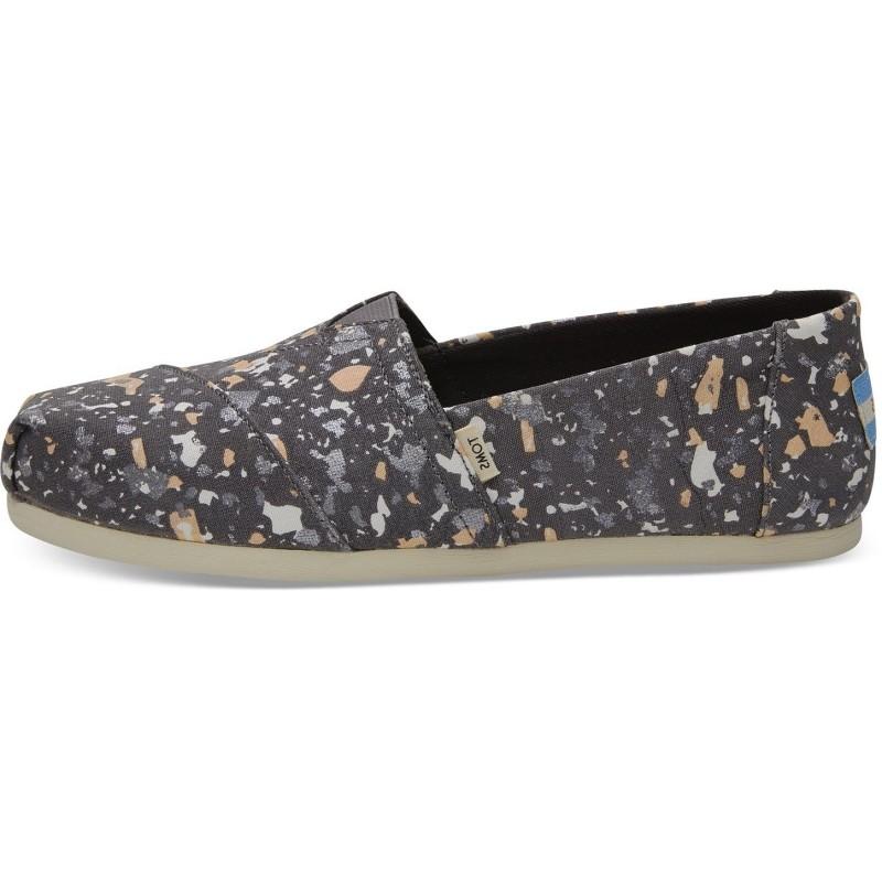 Toms - Forged Iron Grey Metallic Granite