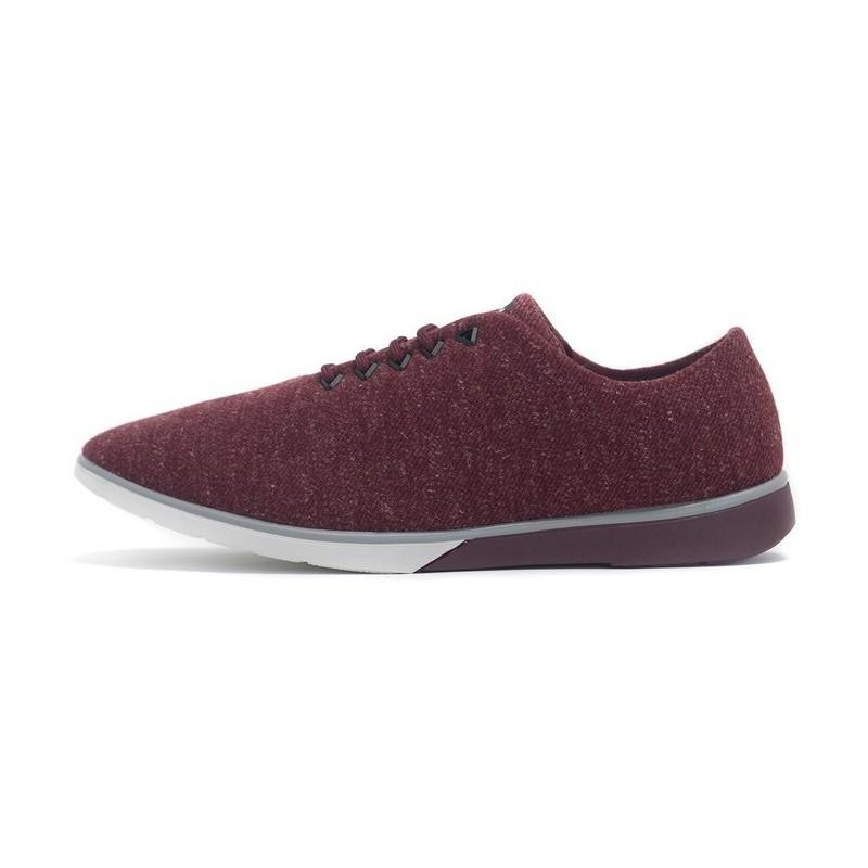 Muroexe - vegane Sneaker Atom Melange Burgundy