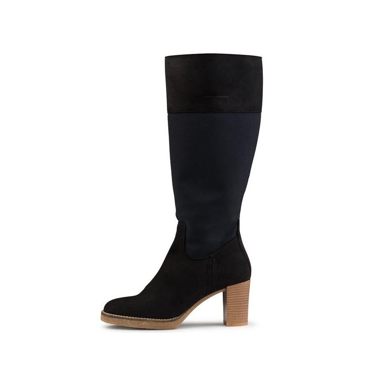 E.V.S - Susanne Boot Black, vegane Schuhe