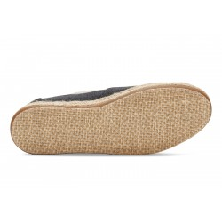Vegane Schuhe Toms - Black Washed Classics für Damen