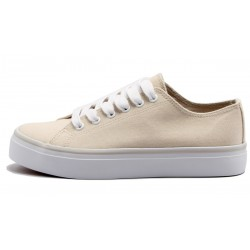 Grand Step Shoes - Chara Offwhite, veganer Sneaker