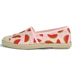 Grand Step Shoes - Evita Plain Melon