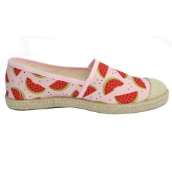 Grand Step Shoes - Evita Plain Melon