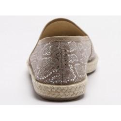 Vegane Schuhe von Grand Step Shoes - Evita Plain Met Snake Rose