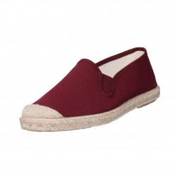 Veganer Espadrilles Evita Strech Purple von Grand Step Shoes