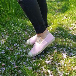 Grand Step Shoes - Evita Plain Paris Skin