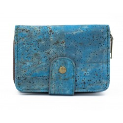Turquoise Cork Lady Wallet
