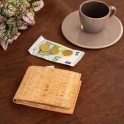Lio Natural Cork Geldbörse