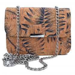 Natural Cork Bag Palms, vegane Tasche