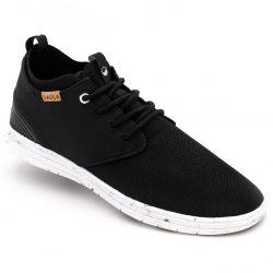 Saolo - Outdoor-Sneaker Semnoz Noir, vegane Schuhe
