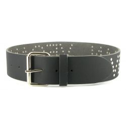 Vegetarian Shoes - Vegan Belt Black