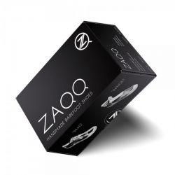 "Zaqq - vegane Barfußschuhe ""Qaro Black/Grey"""
