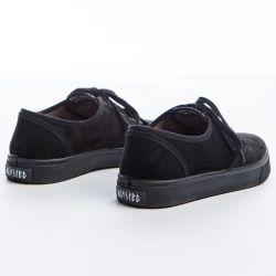 Wasted Shoes - Clarita Black, veganer Sneaker