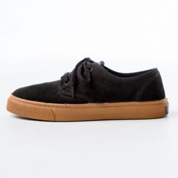 Wasted Shoes - Stubby Black, veganer Sneaker