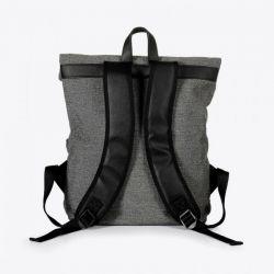 Miomojo - Leonardo Backpack Grigio, veganer Rucksack