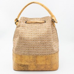 Natural Cork Bag Silver, vegane Tasche
