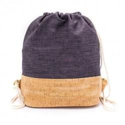 Natural Cork Bag Blue
