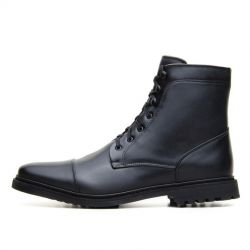 Ahimsa - Work Boot Black, veganer Frauenschuh