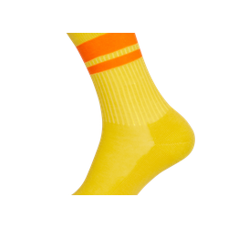 Hirsch Natur - Janis Zitrone/Orange - vegane Socken
