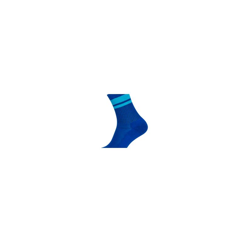 Hirsch Natur - Janis Royal/Türkis - vegane Socken