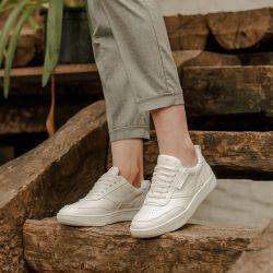 Beflamboyant - UX-68 White, veganer Sneaker