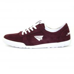 Be Free - veganer Sneaker Low-Cut Dark Bordo