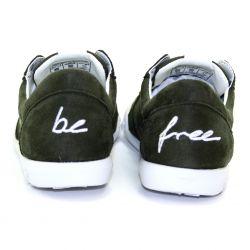 Be Free - veganer Sneaker Low-Cut Khaki