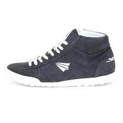 Be Free - veganer Sneaker High-Cut Dark Grey