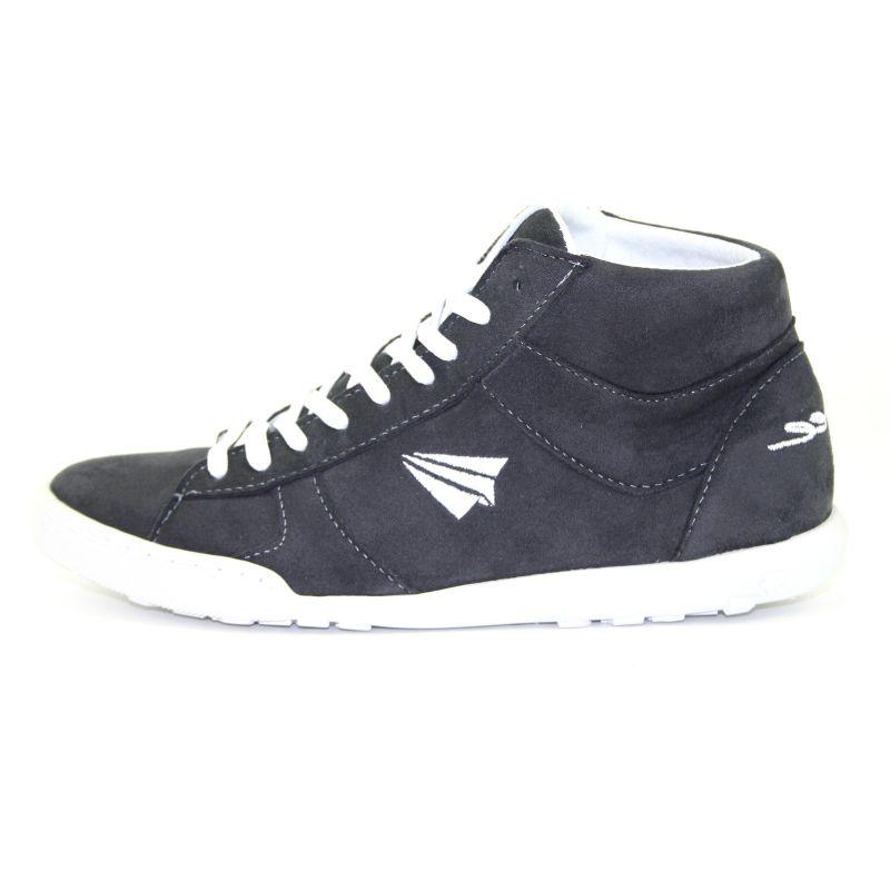 Be Free - veganer Sneaker High-Cut Dark Grey