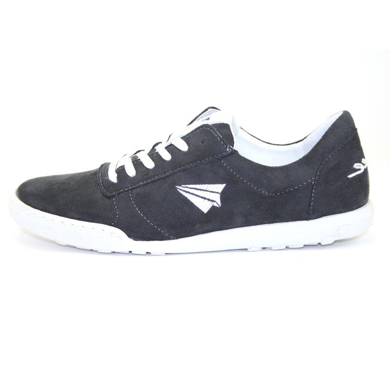 Be Free - veganer Sneaker Low-Cut Dark Grey